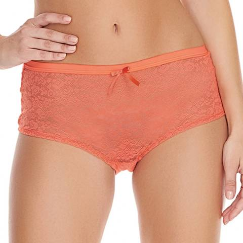Freya Hot Coral Freya Fancies Hipster Short briefs