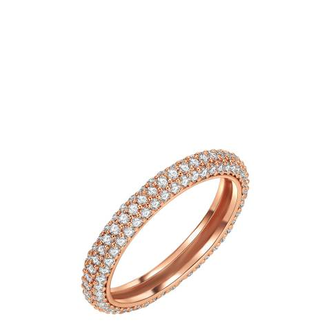 Tassioni Rose Gold Zirocnia Ring