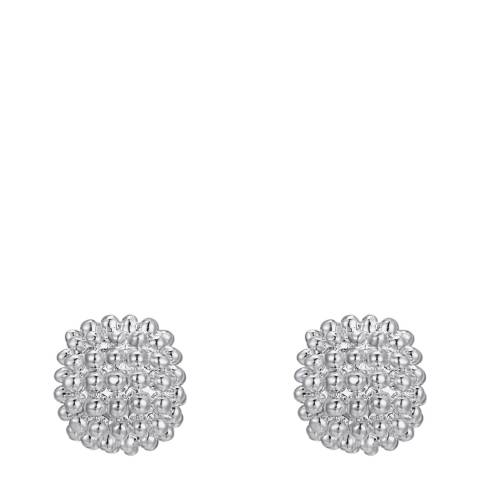Tassioni Silver Studd Earrings