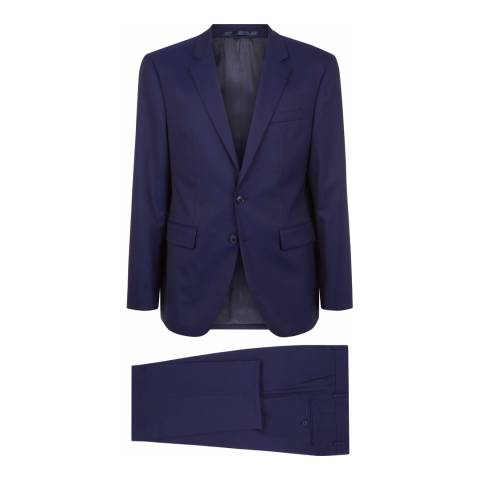 Jaeger Navy Regular Wool Twill Suit