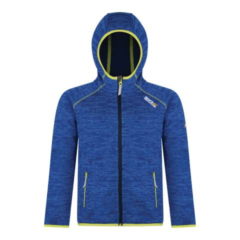 Regatta Ocean Blue Dissolver Hooded Fleece