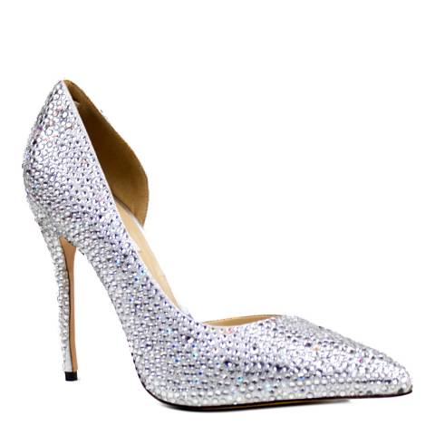 Benjamin Adams Silver Crystals Heels