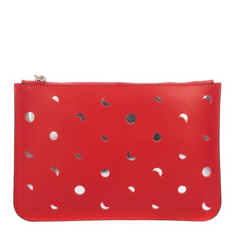 Mademoiselle Odette Red Leather Crossbody Bag