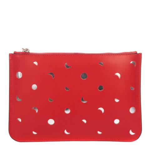 Mademoiselle Odette Red Leather Crossbody Bag