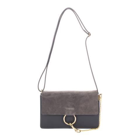Giorgio Costa Grey Leather Clutch Bag