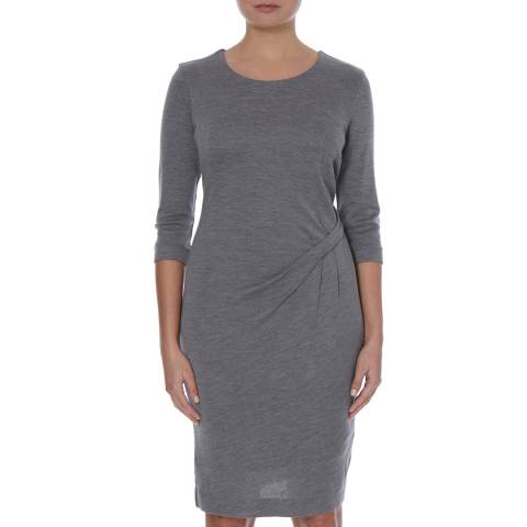 Boss by Hugo Boss Grey Wool/Silk Dress