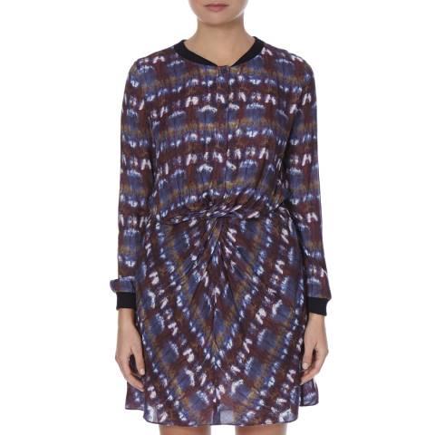 BOSS ORANGE Multi Amoily Pattern Dress