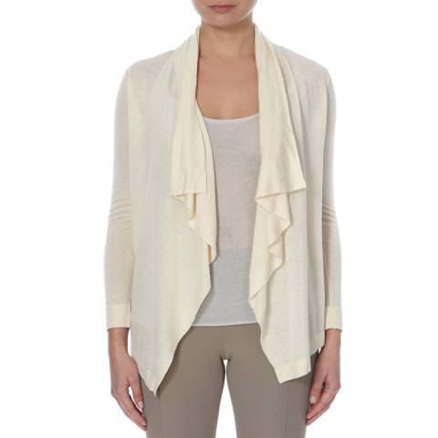 BOSS ORANGE Cream Ivi Wool Blend Cardigan