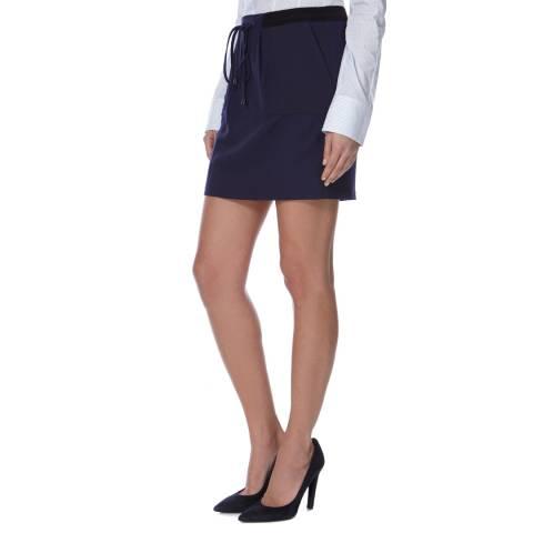 BOSS ORANGE Navy Birina Mini Skirt