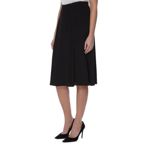 Boss by Hugo Boss Black Textured A Line Vunela Skirt