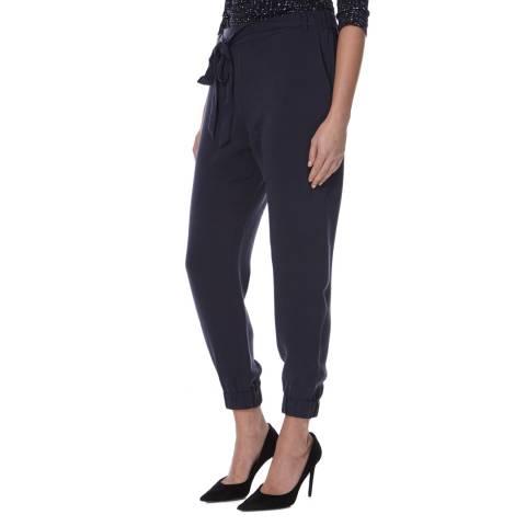 BOSS ORANGE Navy Jogger Style Sazippa Trousers