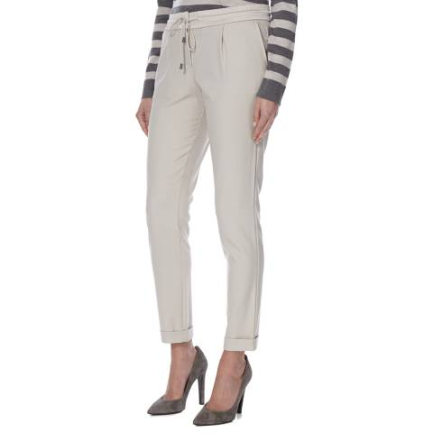 Boss by Hugo Boss Beige Jogger Style Ariyana3 Trousers