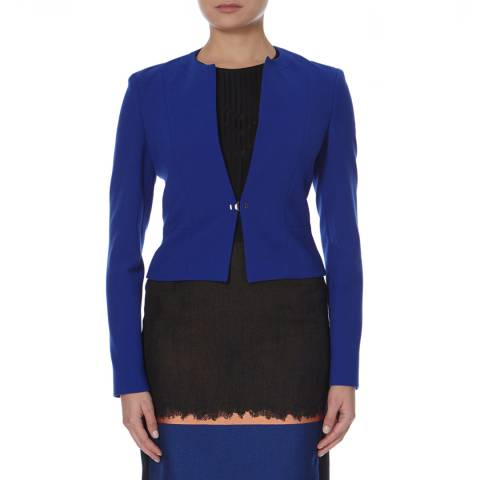 Boss by Hugo Boss Blue Tailored Jipela Jacket