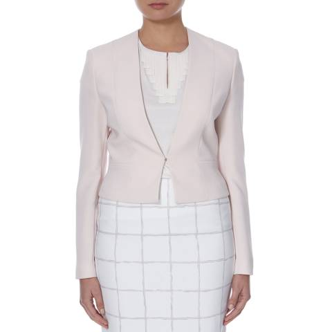 Boss by Hugo Boss Light Pink Tailored Jalyna Jacket