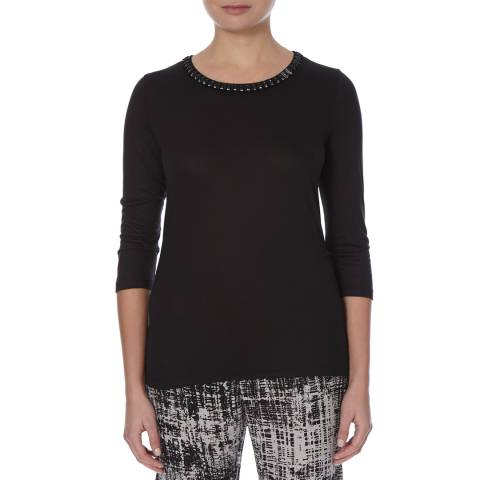 Boss by Hugo Boss Black Eandra Beaded Top