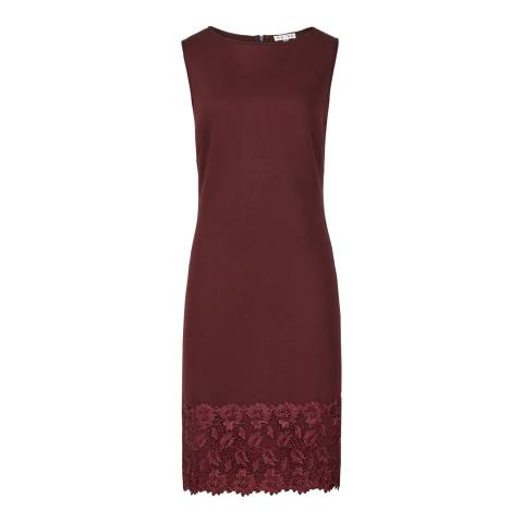 Reiss Red Lace Issy Dress