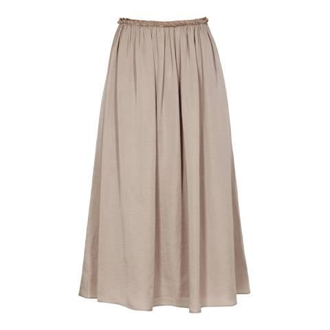 Reiss Pink Midi Alissa Skirt