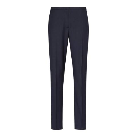 Reiss Navy Slim Fit Torina 2 Trousers