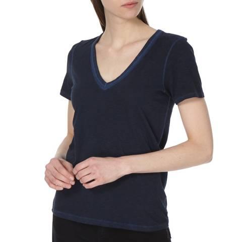 Rag & Bone Women's Navy Sublime Wash T-Shirt