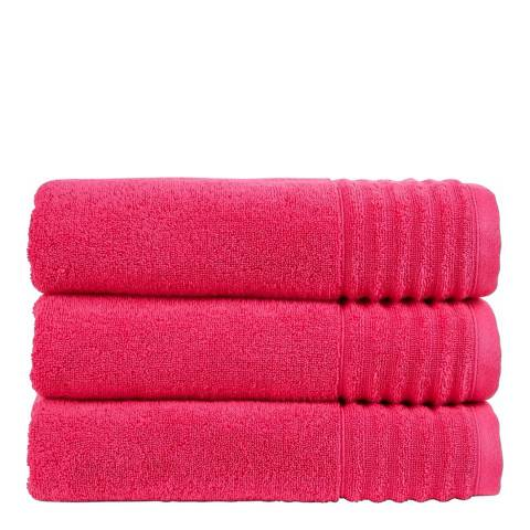 Christy Raspberry Adelaide Hand Towel