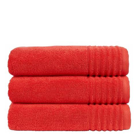 Christy Paprika Adelaide Bath Towel