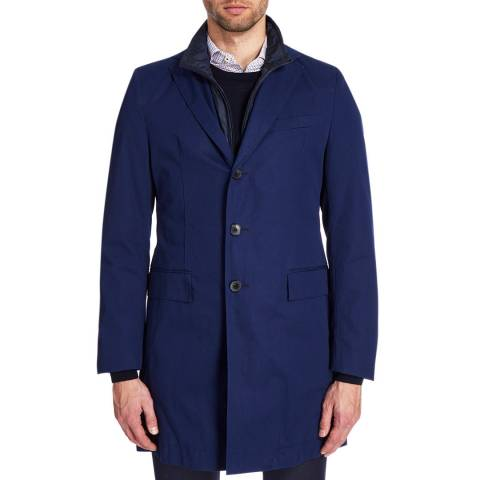 Boss by Hugo Boss Navy Lenni Regular Coat