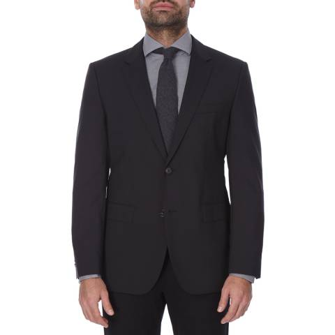 Boss by Hugo Boss Black Wool Blend The Rider GSU Blazer