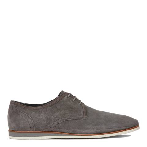 Boss by Hugo Boss Grey Suede Ecleder Shoes