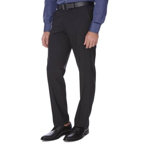 Boss by Hugo Boss Black Wool Blend Shout GSU Trousers