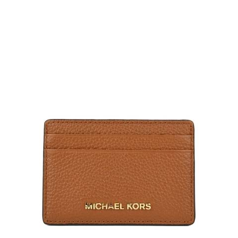 Michael Kors Acorn Money Pieces Leather Card Holder
