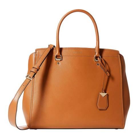 Michael Kors Acorn Benning XL Satchel Bag