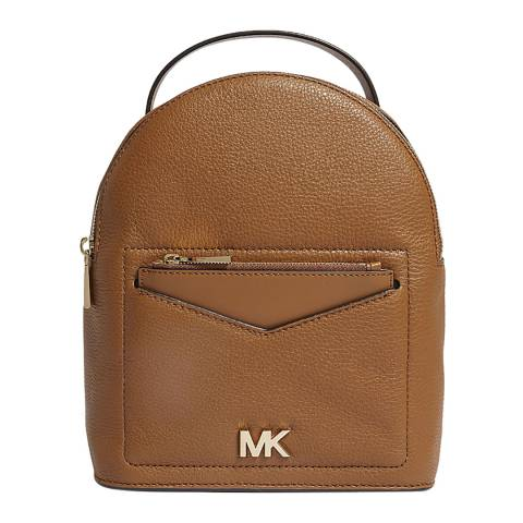 Michael Kors Acorn Jessa Leather Convertible Backpack