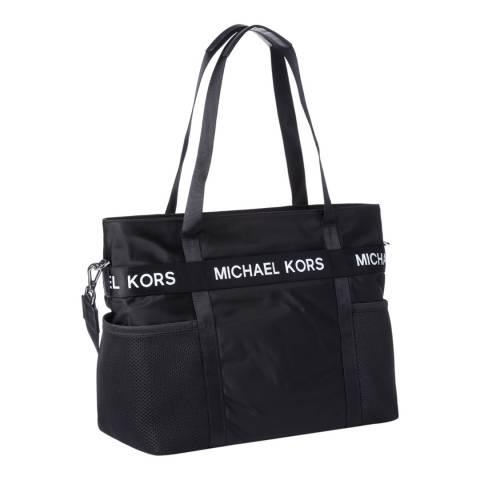 Michael Kors Black The Michael LG Nylon Tote Bag