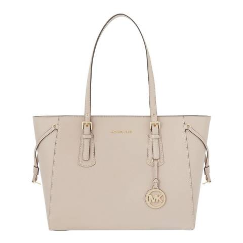 Michael Kors Soft Pink Voyager Medium Topzip Tote Bag