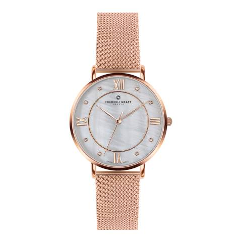 Frederic Graff Women's Rose Gold Liskamm Watch 38mm