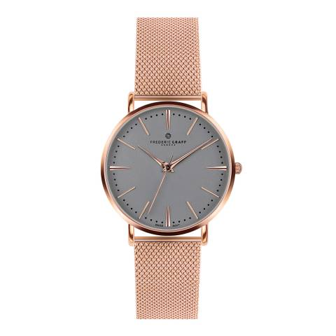 Frederic Graff Unisex Rose Gold Eiger Watch 40 mm