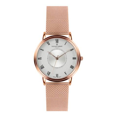 Frederic Graff Womens Rose Gold Grand Combin Watch 40 mm