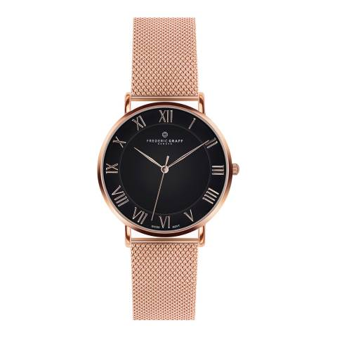 Frederic Graff Womens Rose Gold Dom Watch 40 mm