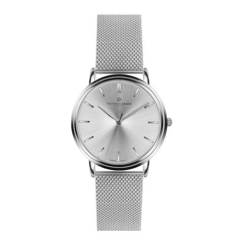 Frederic Graff Unisex Silver Breithorn Watch 40 mm