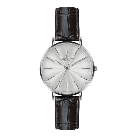 Frederic Graff Women's Crocco Black Monte Rosa Watch 38 mm