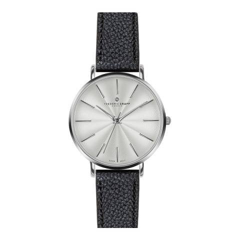 Frederic Graff Women's Lychee black Monte Rosa Watch 38 mm