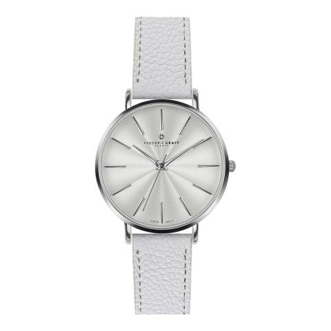 Frederic Graff Women's Lychee White Monte Rosa Watch 38 mm