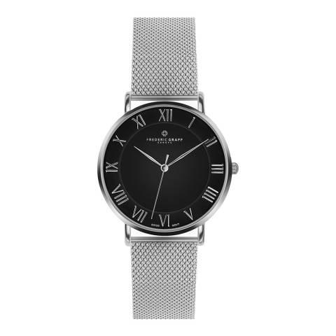 Frederic Graff Unisex Silver Dom Watch 38 mm
