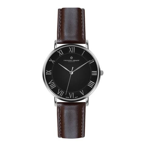 Frederic Graff Men's Dark Brown Dom Watch