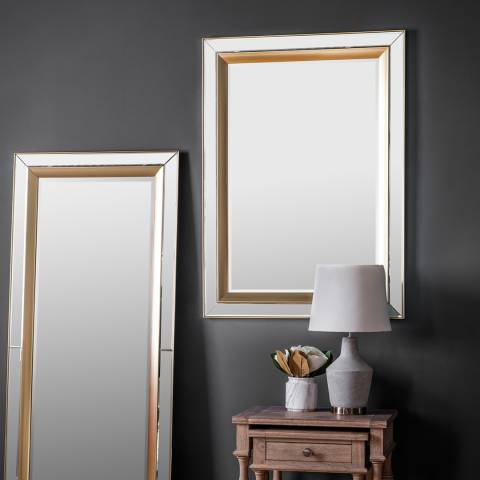 Gallery Phantom Rectangle Mirror 79x109.5cm