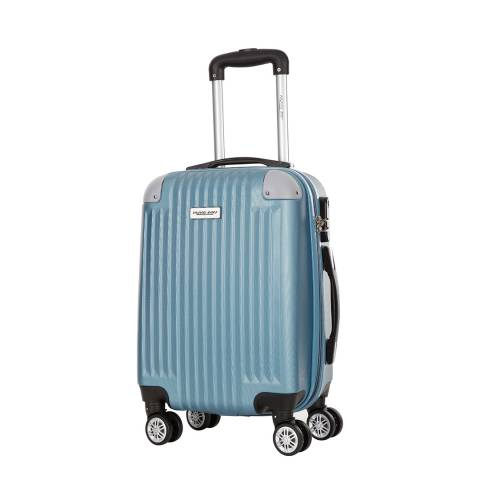 Travel One Teal Tecapa Spinner Suitcase 56cm