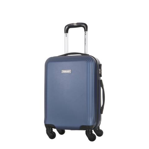 Travel One Blue Alicudi Spinner Suitcase 45cm