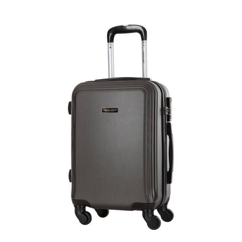 Travel One Grey Alicudi Spinner Suitcase 55cm