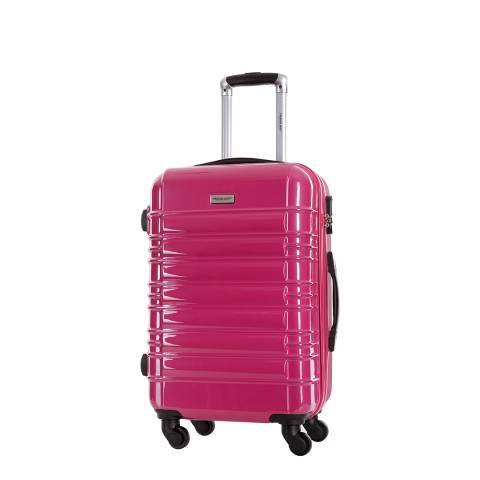 Travel One Pink Princeton Spinner Suitcase 45cm