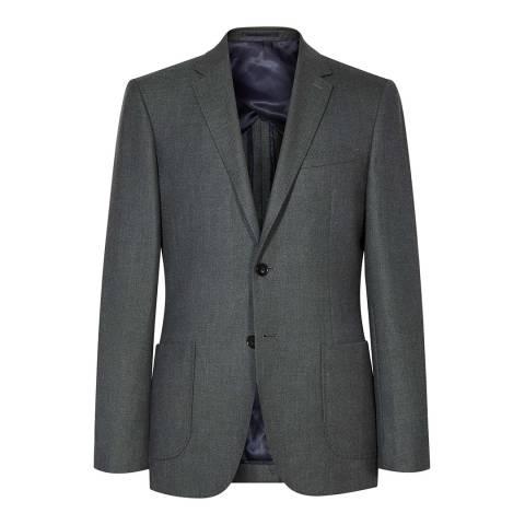 Reiss Green Abraham Modern Fit Jacket